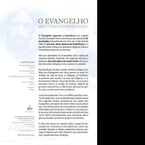 O Evangelho Segundo O Espiritiamo600x600 tras