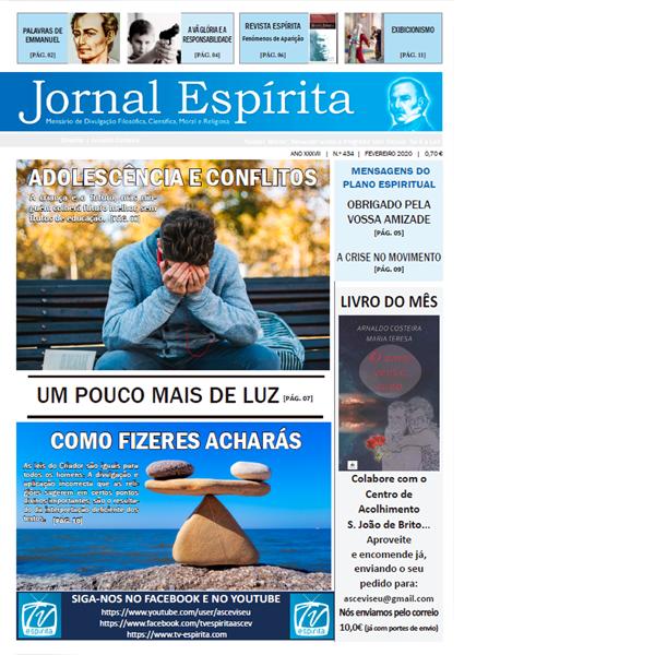 Jornal Espírita - Fevereiro 2020