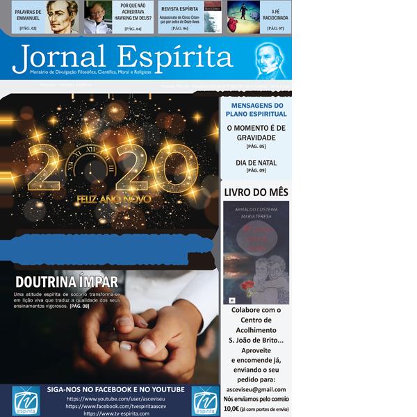 Jornal Espírita - Janeiro 2020
