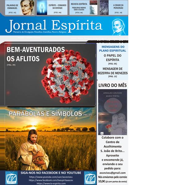 Jornal Espírita - Abril 2020
